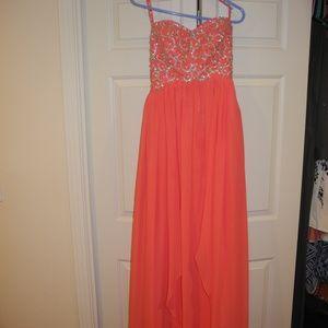 Dresses & Skirts - Custom Made Pink Prom Dress
